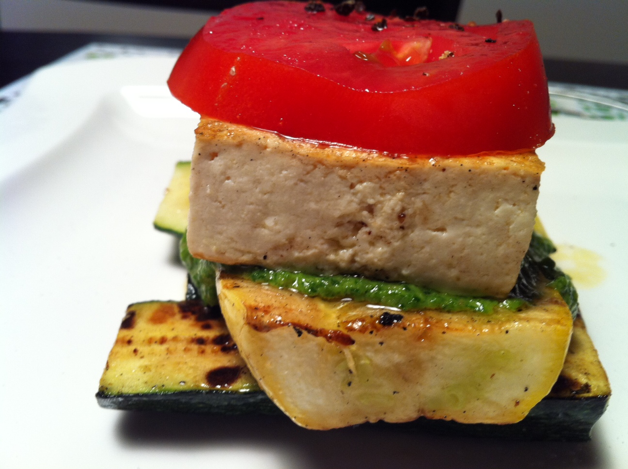 """Grilled Vegetable And Tofu """"Lasagna"""" With Pesto Recipes ..."""